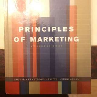 Principles of Marketing 9th RSM250