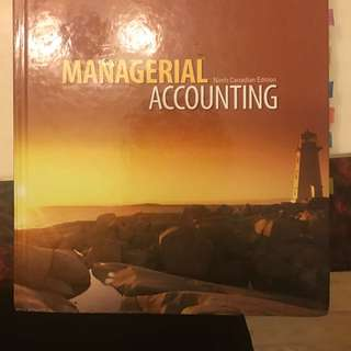 Managerial Accounting 9th Edition RSM222