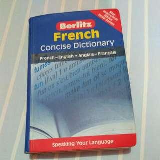 Kamus French - English English - French