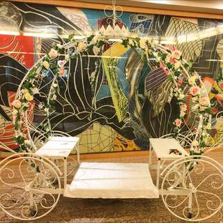 FOR RENT: CINDERELLA PUMPKIN CARRIAGE