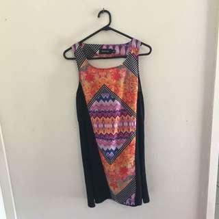 Minkpink Multicolour Shift Dress