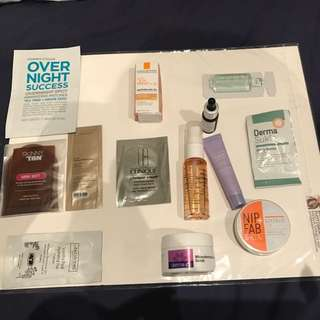Skin Care Sampler Pack