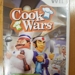 Wii Game 'Cook Wars'