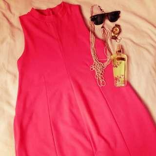 Penshoppe Cute Pink Short Dress
