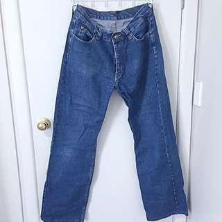 Blue Lee Jeans