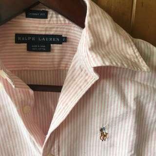 Ralph Lauren Women's Sz2 (Aust 6) Slim Shirt