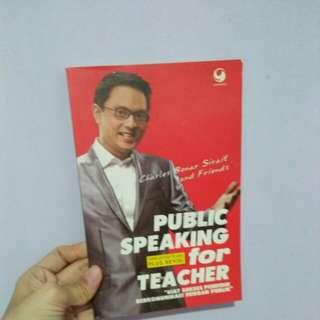 Public Speaking For Teacher