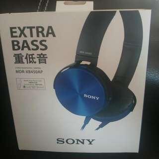 [聖誕大優惠] Sony耳筒Headphone MDR-XB450AP
