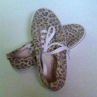 H&m Animal Print Shoes/size 37