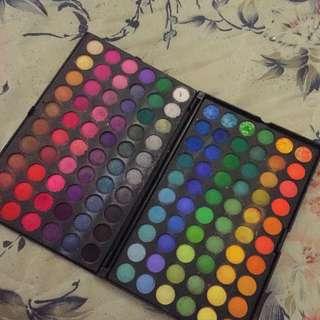 120 Colour Eyeshadow Palette