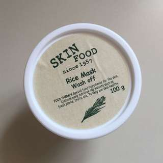 Skinfood Rice Wash Off Mask