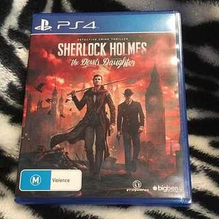 PS4 Sherlock Holmes-The Devil's Daughter