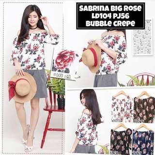 Sabrina Big Rose Top