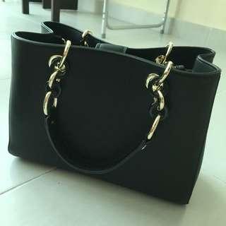 (Price Reduced)Wardrobe Sales - Saffiano Leather Satchel