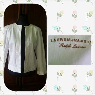 Repriced Denim white jAcket.  auhtentic (Ralp Lauren)