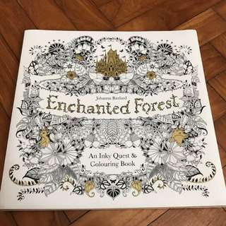 Johanna Basford's Enchanted Forest