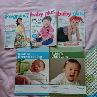 Childcare / Breastfeeding/childbirth Book From Wong Boh Boi ( Free Babyplus Books)