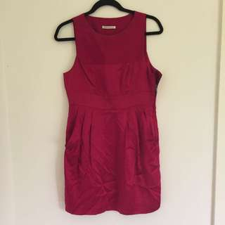Scanlan Theodore Sample Pink Dress Size ML