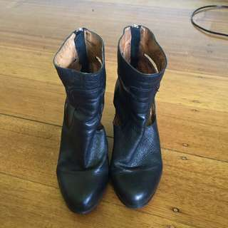 Wittner Boots Size 38