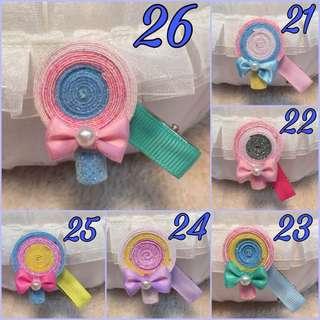 Children Lollipop Hair Clip Baby Girls Cute