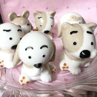 陶瓷狗狗擺設