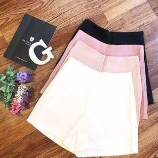 Highwaist white shorts