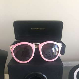 Karen Walker Pink Harvest Sunglasses