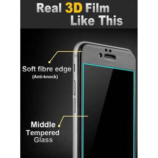 3D Tempered Glass for iphone 7