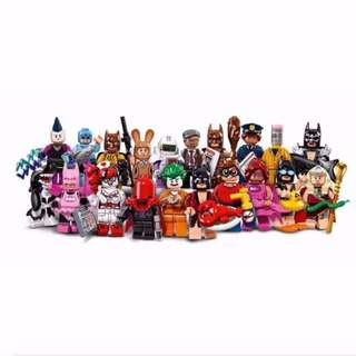 LEGO 71017 LEGO Batman Movie Series Minifigures (Complete 20 Figs)