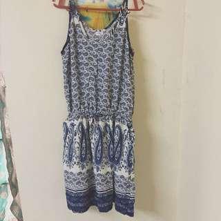SMB Blue Sun Dress