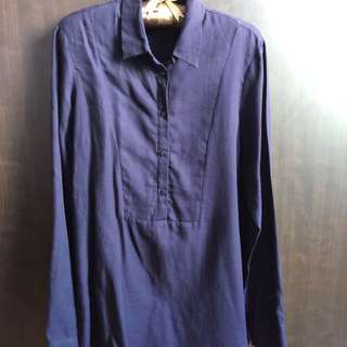 Zara Navy Shirt