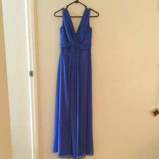 Full Length Blue Dress
