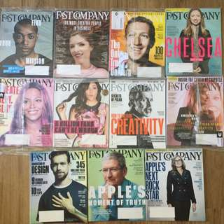 Fast Company Unopened Issues