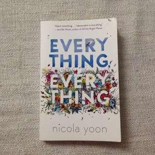 Everything Everything Book Nicola Yoon