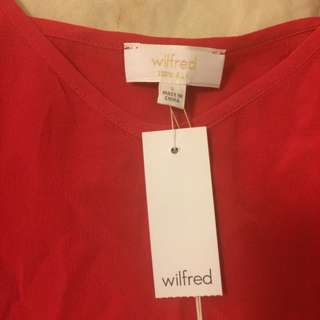 PRICE DROP Wilfred 100% Silk Camisole