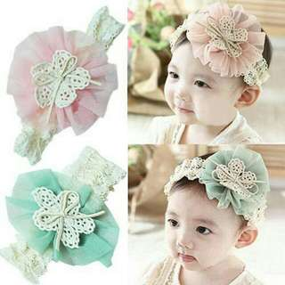 Vintage Cute Pretty Baby Ribbon Headband