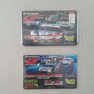 Limited Edition Super GT Touch & Go Card