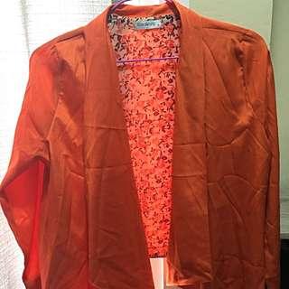 F&H Orange Blazer