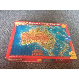 Giant Australia Puzzle