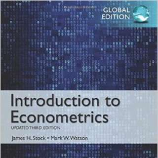 Introduction To Econometrics 4th Edition By Stock &watson