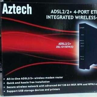Aztech 1015 modem/router