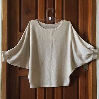 Nude Knit Blouse