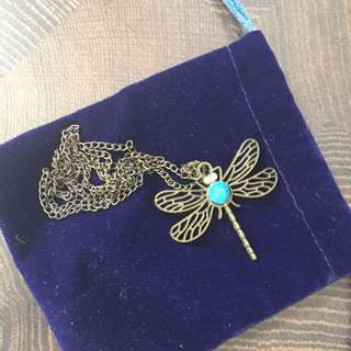Dragonfly Long Necklace