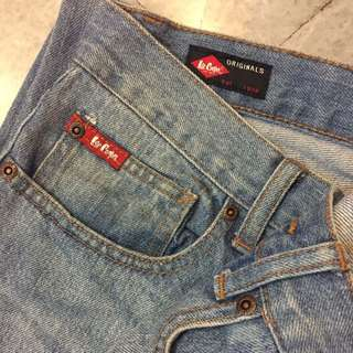 LEE COOPER - low rise regular cotton jeans