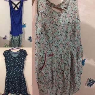 3 Dress For Only 400