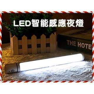 🚚 現貨 LED智能感應夜燈 磁吸式 旋轉式 電池式 免拉線 感應燈 手電筒 露營