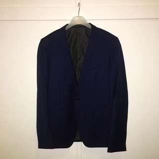 Jack London Two-piece Navy Suit