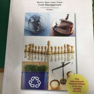 AC2105 Cost Management MA Textbook