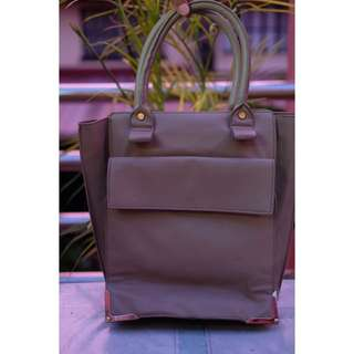 Gray Hand Bag (Unbranded)