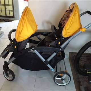 (RESERVED) Contours Options LT Tandem Stroller